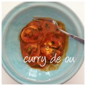 Curry de ouă (de la Paşti) și cum restaurantul meu preferat e bucătăria de acasă