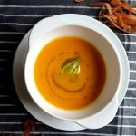 Încălzește-te cu o supă cremă de morcovi ruptă din…soare