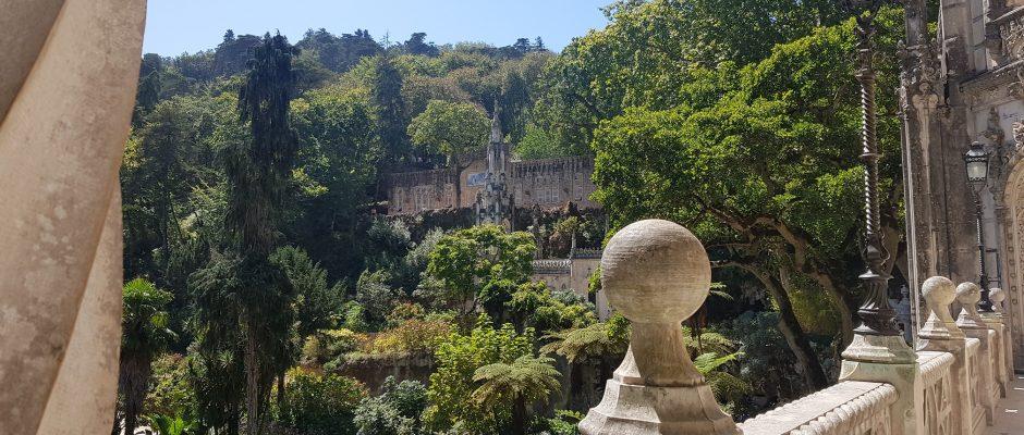 Sintra (Portugalia). Magia s-a născut la Quinta da Regaleira