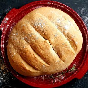 Mâncarea în vremea COVID: Pâine cu drojdie făcută în casă