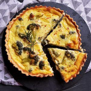 Sofisticat: Quiche cu broccoli și brânză Gouda